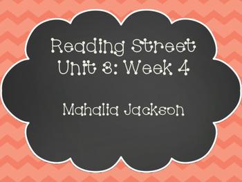 Reading Street: Mahalia Jackson Posters & Activities