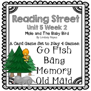 Reading Street: Mole and The Baby Bird  4-in-1 Spelling and HFW Games