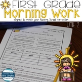Morning Work First Grade UNIT 2