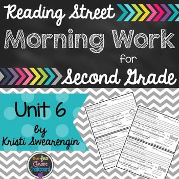 Reading Street Morning Work Second Grade Unit 6