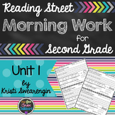 Reading Street Morning Work Second Grade Unit 1