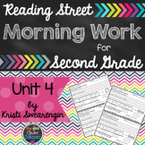 Reading Street Morning Work Second Grade Unit 4
