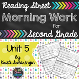 Reading Street Morning Work Second Grade Unit 5