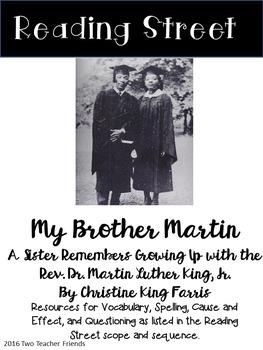 Reading Street My Brother Martin