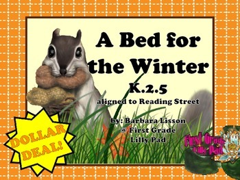 Reading Street NO-PREP Printables: (A Bed for Winter)