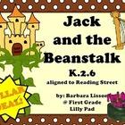 Reading Street NO-PREP Printables: (Jack and the Beanstalk)