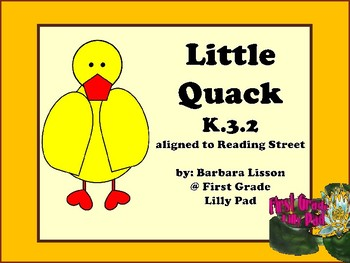 Reading Street NO-PREP Printables (Little Quack)