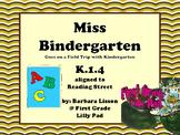 Reading Street NO-PREP Printables: Miss Bindergarten Goes on a Field Trip