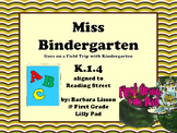 Reading Street NO-PREP Printables: Miss Bindergarten Goes