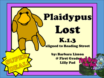 Reading Street NO-PREP Printables: (Plaidypus Lost)