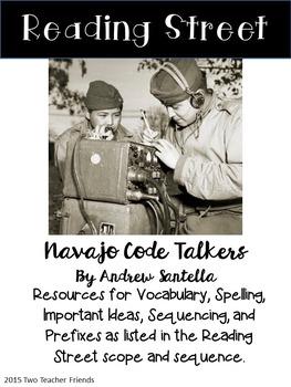 Reading Street Navajo Code Talkers