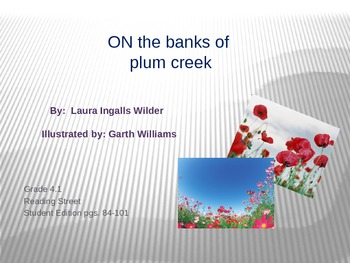 4th Grade Reading Street: On the Banks of Plum Creek PPT