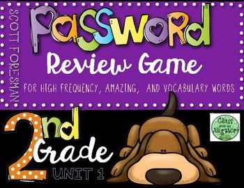 Reading Street Password Game
