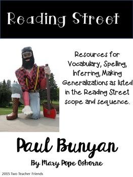 Reading Street Paul Bunyan