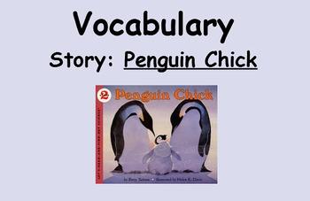 3rd Grade, Reading Street, Penguin Chick Vocabulary SmartBoard Lesson