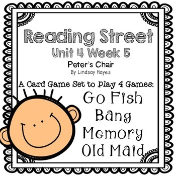 Reading Street: Peter's Chair 4-in-1 Spelling and HFW Games