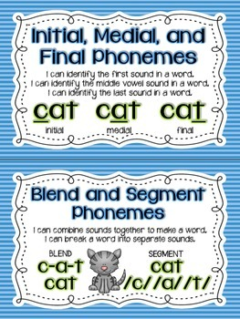 Reading Street Phonics and Phonemic Awareness Cards - First Grade