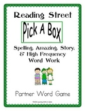 Reading Street FIRST GRADE Partner Game: Spelling/Story/Amazing/HF Words