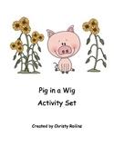 Reading Street Pig in a Wig short i Set
