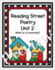 Reading Street First Grade Poetry - Units 1-5