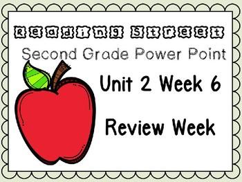 Reading Street Power Point Unit 2 Week 6 Review Week. Second Grade