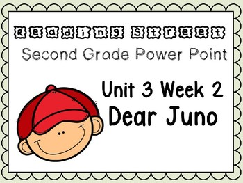 Reading Street Power Point Unit 3 Week 2 Dear Juno. Second Grade