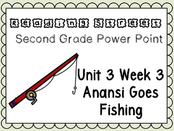 Reading Street Power Point Unit 3 Week 3 Anansi Goes Fishing. Second Grade