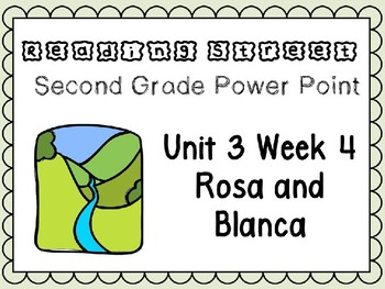 Reading Street Power Point Unit 3 Week 4 Rosa and Blanca. Second Grade