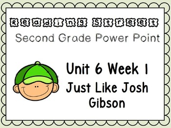 Reading Street Power Point Unit 6 Week 1. Second Grade