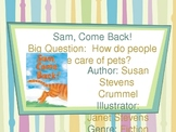 Reading Street Powerpoint Sam, Come Back! Unit 1, week 1 - CA edition
