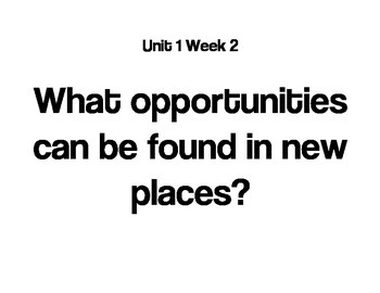 Reading Street Question of the Week (ALL UNITS!)-4th Grade
