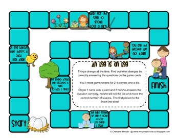 Reading Street - Rattle, Roll, & Read Activity Pack - {An Egg is an Egg}