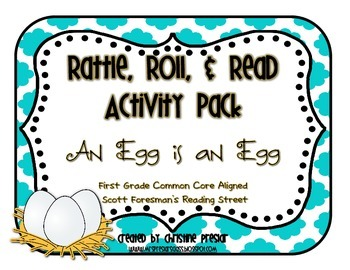 Reading Street - Rattle, Roll, & Read Activity Pack - {An