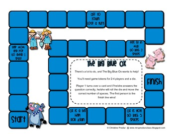 Reading Street - Rattle, Roll, & Read Activity Pack - {The Big Blue Ox}