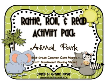 Reading Street - Rattle, Roll, and Read Activity Pack - {A