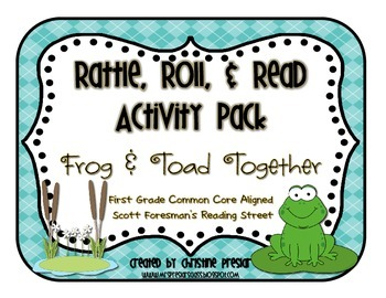 Reading Street - Rattle, Roll, and Read Activity Pack - {F