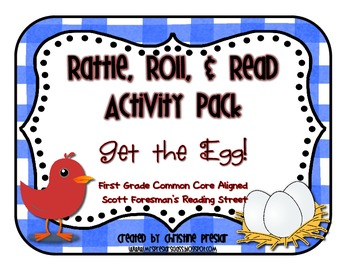 Reading Street - Rattle, Roll, and Read Activity Pack - {Get the Egg!}