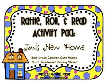 Reading Street - Rattle, Roll, and Read Activity Pack - {J