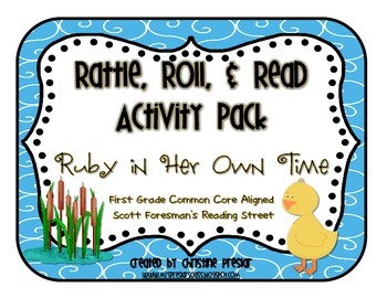 Reading Street - Rattle, Roll, and Read Activity Pack - {Ruby in Her Own Time}
