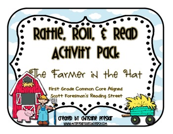 Reading Street - Rattle, Roll, and Read Activity Pack - {The Farmer in the Hat}
