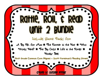 Reading Street - Rattle, Roll, and Read Activity Packs Bundle - {Unit 2}