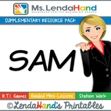 Reading Street, SAM, Teacher Pack by Ms. Lendahand:)