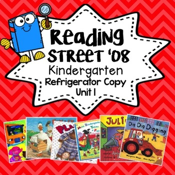 Reading Street Refrigerator Copy Unit 1 Weeks 1-6