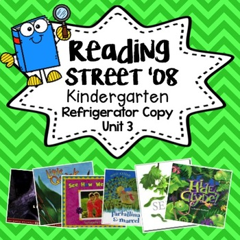 Reading Street Refrigerator Copy Unit 3 Weeks 1-6