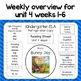 Reading Street Refrigerator Copy Unit 4 Weeks 1-6