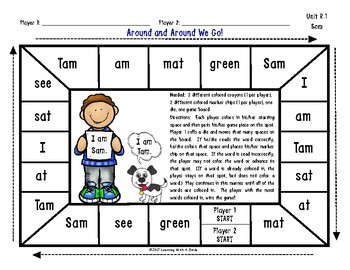 Reading Street Resource WORD WORK GAME Unit R, Grade 1