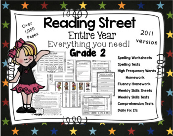Reading Street Resources Full Year Grade 2