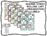 Reading Street Rolling Cart Drawer Labels