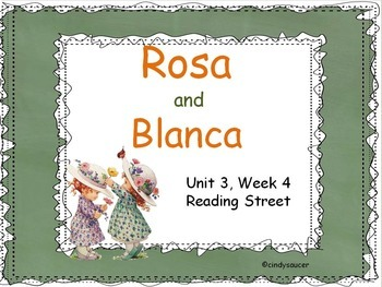 Rosa and Blanca, 2nd Grade, PowerPoint for Whole Groups and Intervention Groups