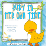 """Reading Street  """"Ruby In Her Own Time"""" Additional Resources"""